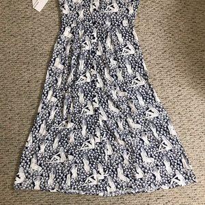 Reformation Dresses - 🆕 Reformation wilma au naturale blue maxi dress